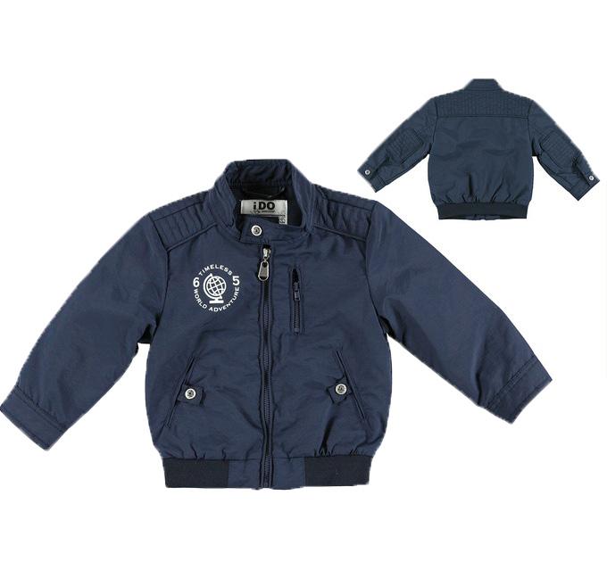 898a9c3bc33 Μπουφάν ανοιξιάτικο μπλε αγόρι IDOmini 4S282 | Έπιπλο παιδικό ...