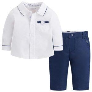b0bc277cf08 Παντελόνι λινό γκρι αγόρι 29-01510-034 MAYORAL | Έπιπλο παιδικό ...