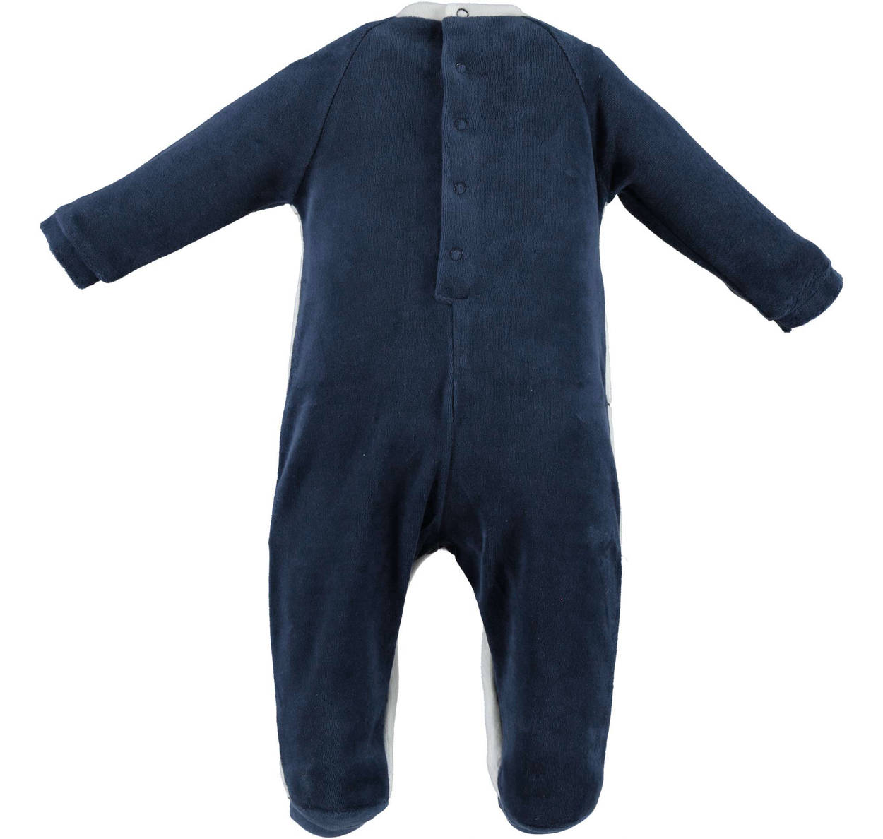 1752d8fda0b Φορμάκι ολόσωμο βελουτέ-λευκό-μπλε-IDOmini-4V206 | Έπιπλο παιδικό ...