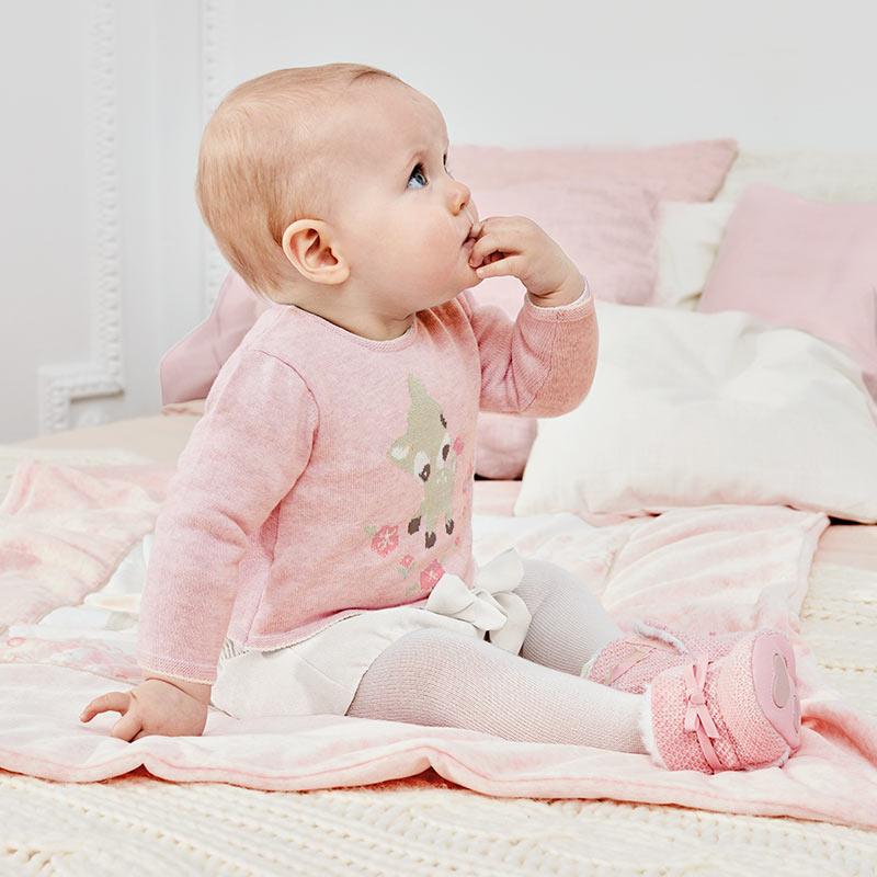 2c4d328357d8 Σετ πλεκτό με σορτς,ροζ,κορίτσι-Mayoral-2200 | Έπιπλο παιδικό ...