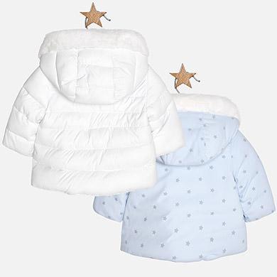 5fc770fa9ec Μπουφάν διπλής όψης-λευκό-σιέλ,αγόρι-Mayoral-2414   Έπιπλο παιδικό ...