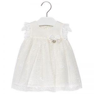 c75fd739abed Φόρεμα δαντέλα με μανίκι κοντό 29-01909-015 MAYORAL