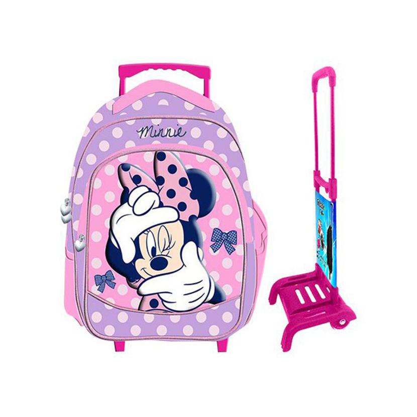 8bdd6749d9 Τσάντα δημοτικού με τρόλλευ MINNIE 50-936 OEM